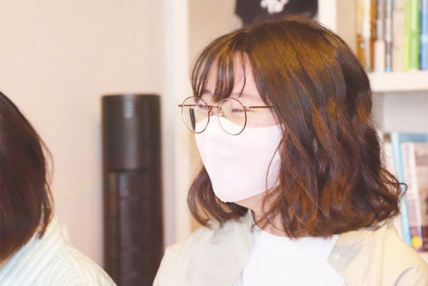新人 中野渡さん