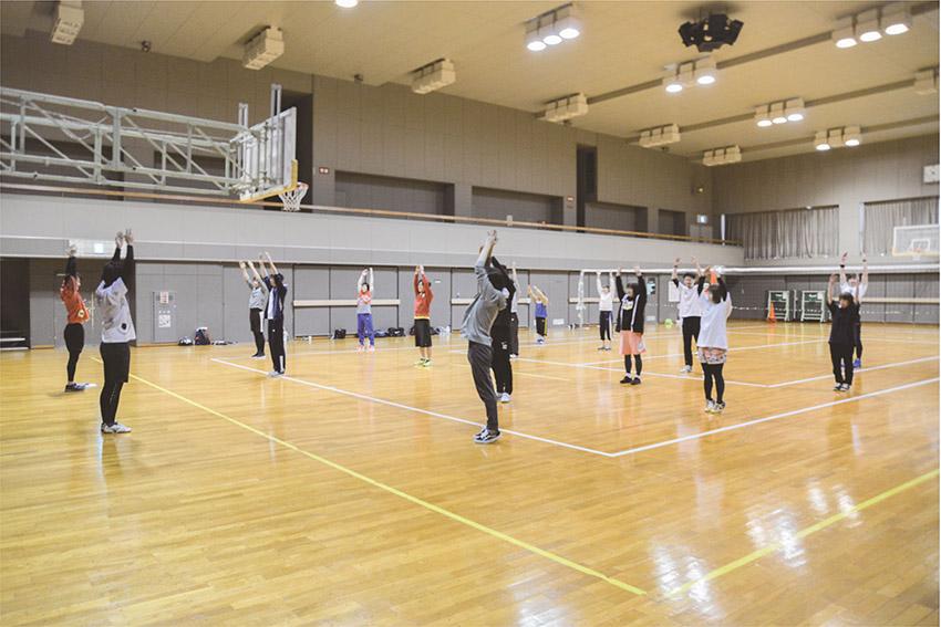 球技大会 準備体操