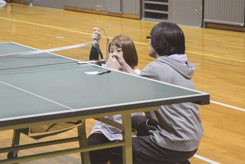 球技大会 卓球1