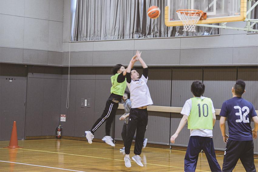 球技大会 バスケットボール1