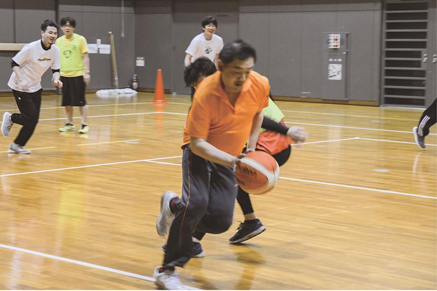 球技大会 バスケットボール2