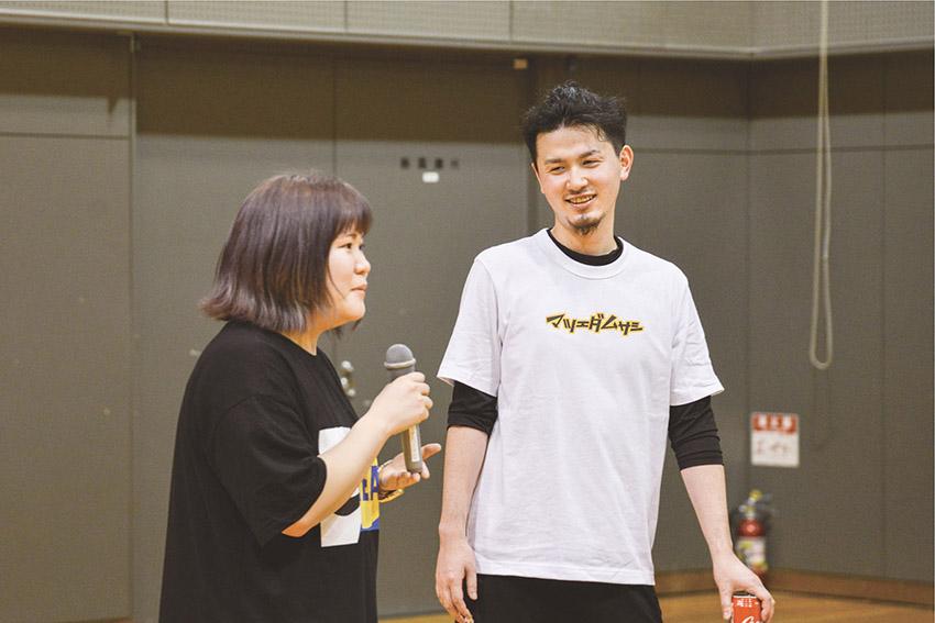 球技大会 勝利後インタビュー2
